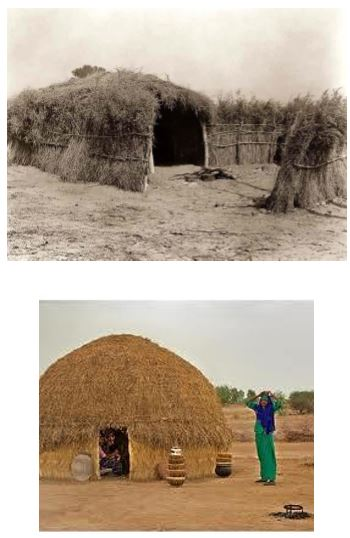 fulani-hut
